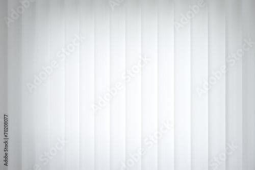 canvas print picture Jalousie vertikal weiss - Hintergrund