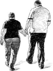 couple on the walk