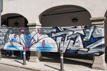 graffiti urbani