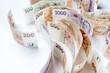 canvas print picture - czech money, czech krown, ceska koruna