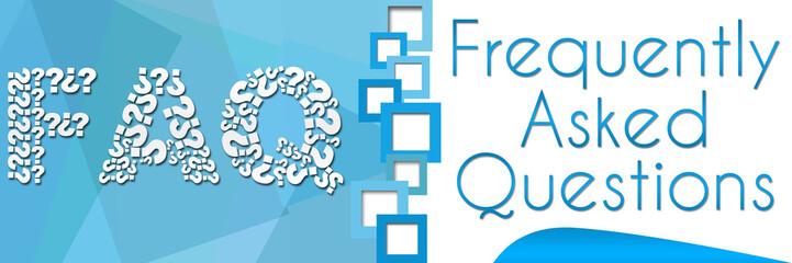 FAQ Square Blue Banner