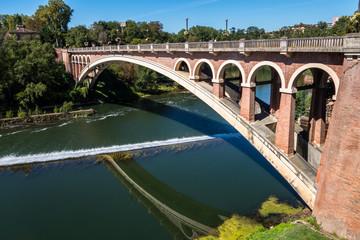Pont suspendu de Gaillac