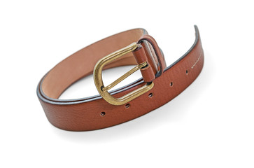 Leather belt -Clipping Path