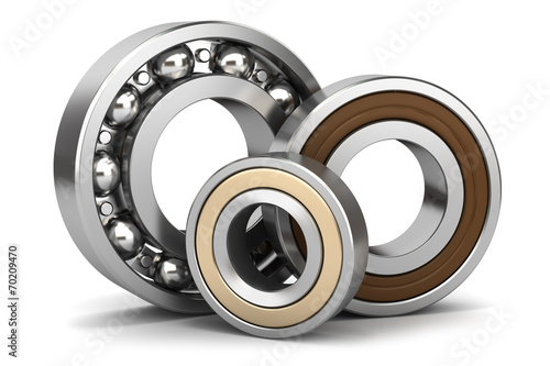 Group of bearings isolated - 70209470