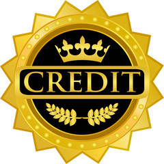 Credit Gold Badge