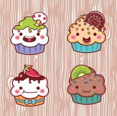 cartoon cupcake 27