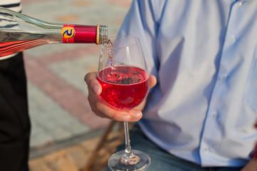 Wine in a glass 819.