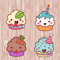 cupcake cartoon 30