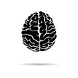 Brain icon. On the white background. Vector illustration. - 70210848
