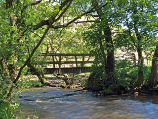 Bridge over the river Dove.