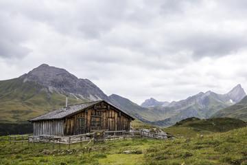 Berghütte, Lechtaler Alpen
