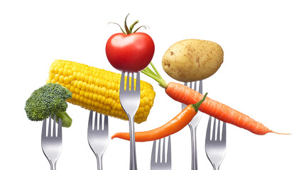 Leckeres Gemüse