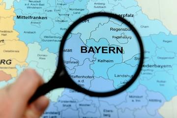 Regierungsbezirk Bayern