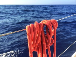 Tauwerk bzw. Leinen am Segelboot