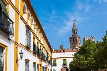 Sevilla - Giralda mit Alcazar