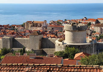 Beautiful view of Dubrovnik, Croatia