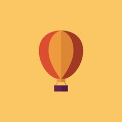 Balloon. Transportation Flat Icon