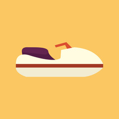 Boat. Transportation Flat Icon