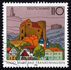 Postage stamp Germany 1998 Bad Frankenhausen, Thuringia