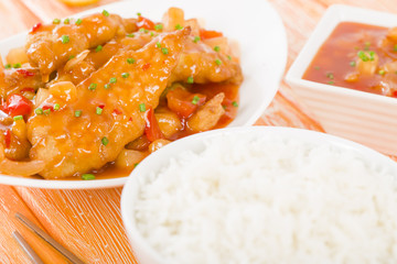 Chinese Sweet & Sour Chicken
