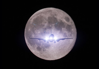Moon Landing 月 着陸 飛行機