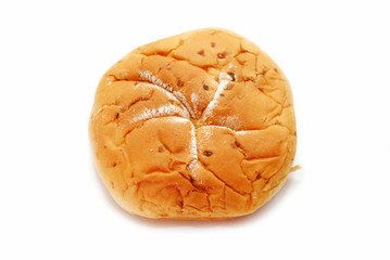 Onion Roll Isolated Over a White Background