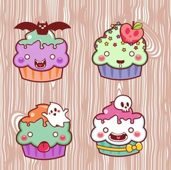 cupcake cartoon 34
