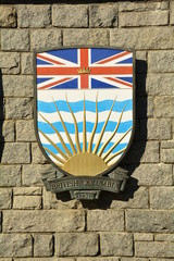 Coat of Arms for the Canadian province of  British Columbia