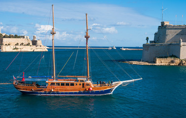 View over Valletta, the capital of Malta