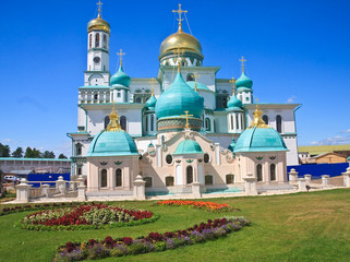 Great monasteries of Russia. New Jerusalem monastery, Istra.