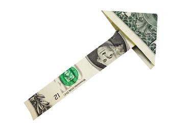 dollar arrow