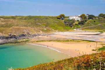 Poldhu Cove Cornwall England