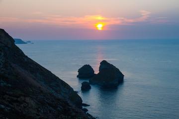 Bassetts Cove North Cliffs Cornwall