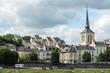 canvas print picture - Church of Saint Pierre in Saumur, Maine-et-Loire department (Fra