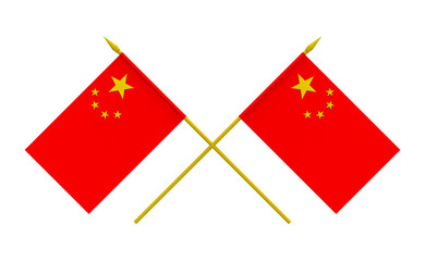 Flags, China