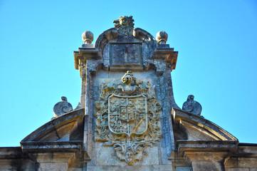 Pontevedra, Galicia, escudo de armas, nobleza