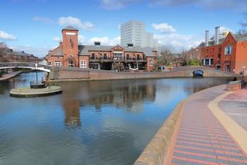 Birmingham canals, UK