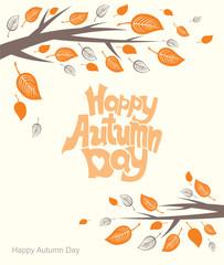Happy Autumn Day.