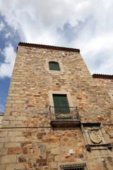 Torre de palacio, Cáceres Antiguo, España