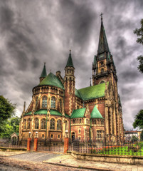 Church of St. Olha and Elizabeth in Lviv, Ukraine