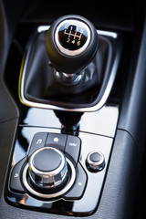 Shift gear of manual gearbox