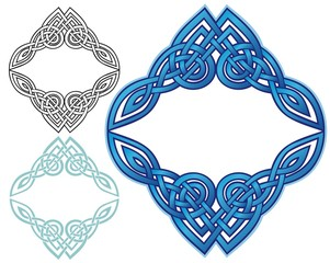 Celtic knot border