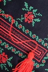 Traditional ukrainian embroidery