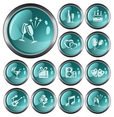Party button set