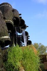 uraltes Wasserrad