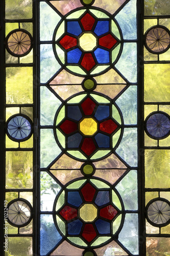 Fototapeta Colorful window
