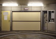 Entrance to underground car parking at night time - 70232665