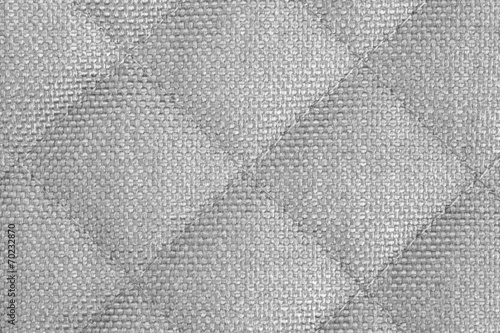 Tuinposter Stof Close - up gray fabric texture and background