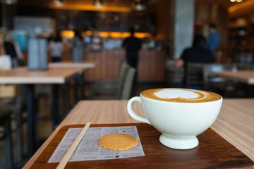 capuchino coffee for serve