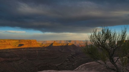Canyonlands Timelapse Utah landscape at Sunset